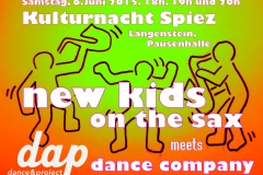 new kids on the sax Spiez 2015